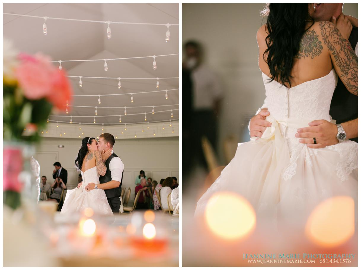 St. Paul College Club, Twin Cities Wedding Photographer, Jeannine Marie Photography, first dance, bride, groom, weddings