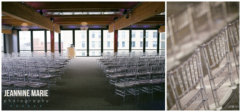 A'BULAE, wedding, wedding ceremony, indoor wedding, winter wedding, ceremony chairs