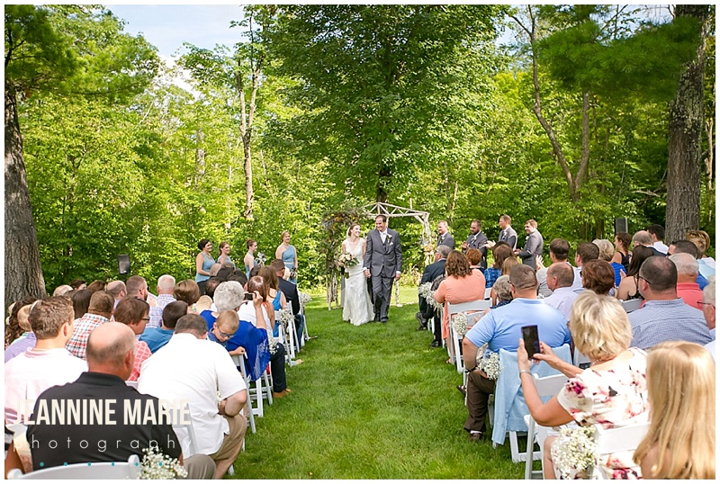 BWB Ranch, wedding ceremony, outdoor wedding, bride, groom, bridesmaids, groomsmen, summer bridesmaids, flowers, floral, arch, wedding decor, newlyweds, just married