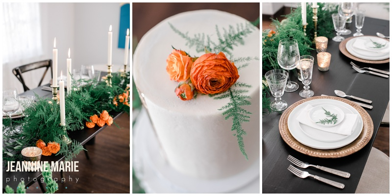 Ode to Eire, St. Patrick's Day wedding, orange and green wedding, styled shoot, Irish wedding, Irish styled shoot, Ireland wedding, Minnesota wedding, Minneapolis wedding, Minneapolis wedding vendors, Minnesota styled shoot, Minnesota Bride Magazine, Minnesota Bride, wedding inspiration, mansion wedding, Minneapolis mansion, The Blaisdell, Ask for the Moon Events, Positively Charmed, PaperThick Ink, Modehaus Bridal, Savvi Formalwear, SM Hair and Makeup, Rudy's Event Rentals, The Copper Hen Cakery + Kitchen, Jeannine Marie Photography, Minneapolis wedding photographer, Minnesota wedding photographer, mansion wedding photographer, Minneapolis mansion, Minneapolis mansion wedding