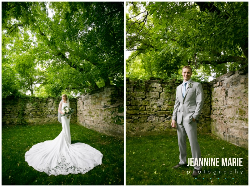 bride, groom, wedding portraits, bridal gown, wedding gown, wedding dress, lace wedding gown, gray suit, groom portraits, bridal portraits, Bloom Lake Barn, summer wedding, barn wedding, Minnesota barn wedding, blue wedding, rustic wedding, Minnesota wedding barns, Jeannine Marie Photography, Minnesota wedding photographer, Minneapolis wedding photographer, photographers near me, Saint Paul wedding photographer, wedding photography, barn wedding photographer, Bloom Lake Barn wedding photographer, Minneapolis wedding photography, Minnesota wedding photography, Studio B Floral, Unique Dining Catering, Bread Art, 139 Hair by Heidi, Laura Westrem Artistry, Che Bella Boutique, Kennedy Blue, Kohl's, Rustic Elegance, Ultimate Events, Minneapolis wedding vendors, Minnesota wedding vendors, Twin Cities wedding vendors