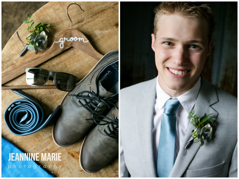 groom, groom accessories, gray suit, summer attire, summer wedding attire, boutonniere, blue tie, Bloom Lake Barn, summer wedding, barn wedding, Minnesota barn wedding, blue wedding, rustic wedding, Minnesota wedding barns, Jeannine Marie Photography, Minnesota wedding photographer, Minneapolis wedding photographer, photographers near me, Saint Paul wedding photographer, wedding photography, barn wedding photographer, Bloom Lake Barn wedding photographer, Minneapolis wedding photography, Minnesota wedding photography, Studio B Floral, Unique Dining Catering, Bread Art, 139 Hair by Heidi, Laura Westrem Artistry, Che Bella Boutique, Kennedy Blue, Kohl's, Rustic Elegance, Ultimate Events, Minneapolis wedding vendors, Minnesota wedding vendors, Twin Cities wedding vendors