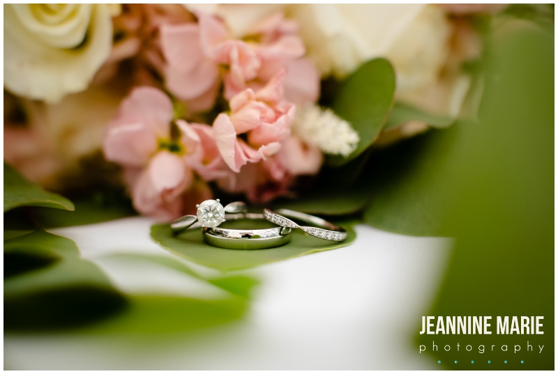 ring, jewelry, wedding rings, Millennium Hotel, hotel wedding, Minneapolis wedding, Millennium Hotel wedding photographer, Millennium Hotel Dome, Millennium Dome wedding, city skyline, city view, unique wedding venues, Jeannine Marie Photography, Minneapolis wedding photographer, Twin Cities wedding photographer, indoor wedding, summer wedding, pastel wedding, Sky Focus Films, Joy Unspeakable Flowers, Buttercream, Linen Effects, Eric Borchers, Adagio Djay Entertainment, Complete Weddings, Minted, Press Room, Mukti Marketing, Noe Creations, Ali Zacher, M. Elizabeth Bridal, Lela Rose, Badgley Mischka, Diamond Bridal, Amazing Alterations, David's Bridal, Kennedy Blue, Bella Bridesmaids, Bill Levkoff, Hugo Boss, mismatched bridesmaids, navy suit, gray suit, wedding inspiration, lace gown